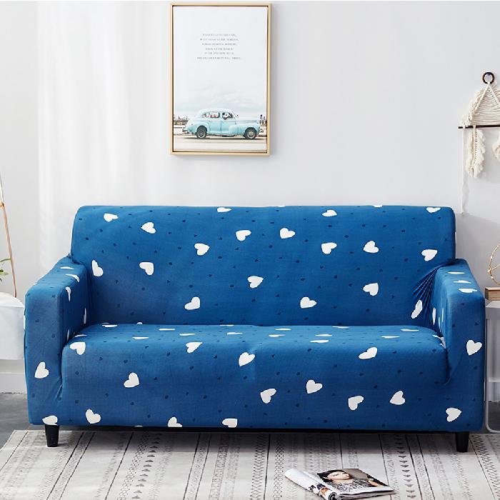 海洋之心彈力沙發套1+2+3人座