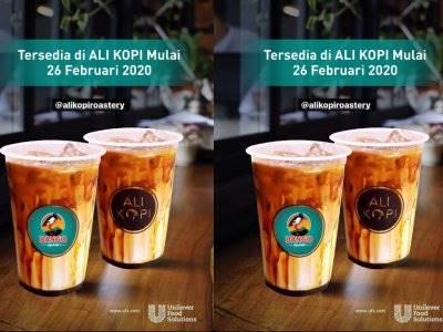 Viral! Kedai Ini Hadirkan Es Kopi Susu Campur Kecap Bango