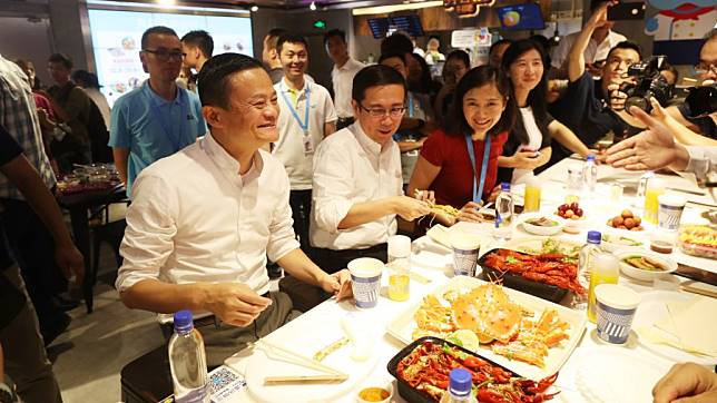 Jack Ma และ Daniel Zhang | Credit Photo: Alibaba Group
