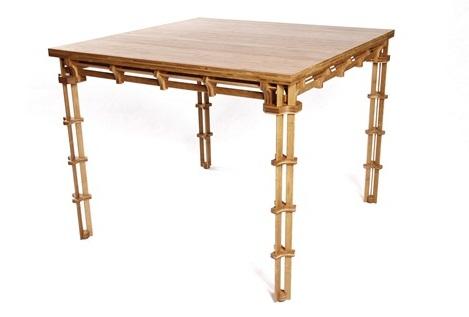 環保健康竹傢具