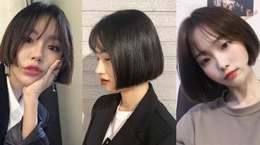 清湯掛麵不會俗,韓國超紅「鬚鬚短髮」剪完就是青春美少女!