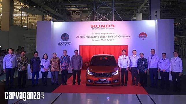 Dari Karawang, Honda Brio Setir Kiri Meluncur ke Vietnam dan Filipina
