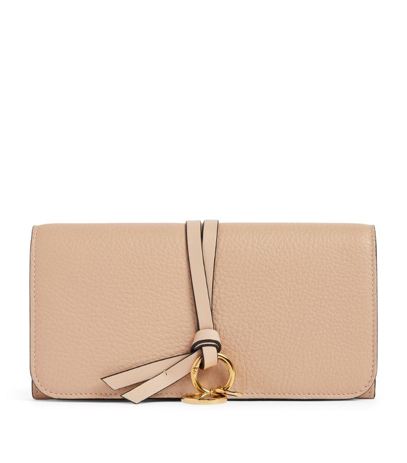 Chloé Leather Alphabet Long Wallet