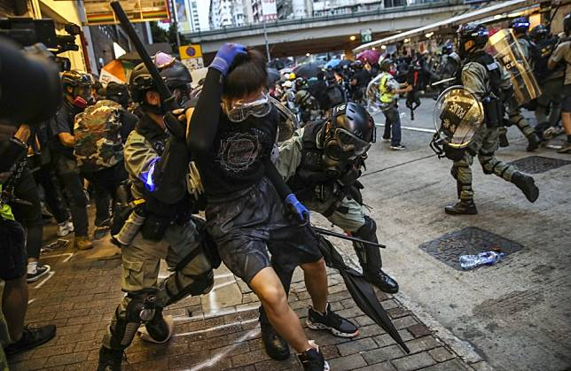 Hong Kong's protesters will find that violent action to achieve abstract ideas is a suicide mission