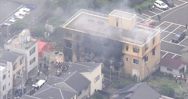 京都動畫遭縱火事件,已知20名死4名急救持續搜救中
