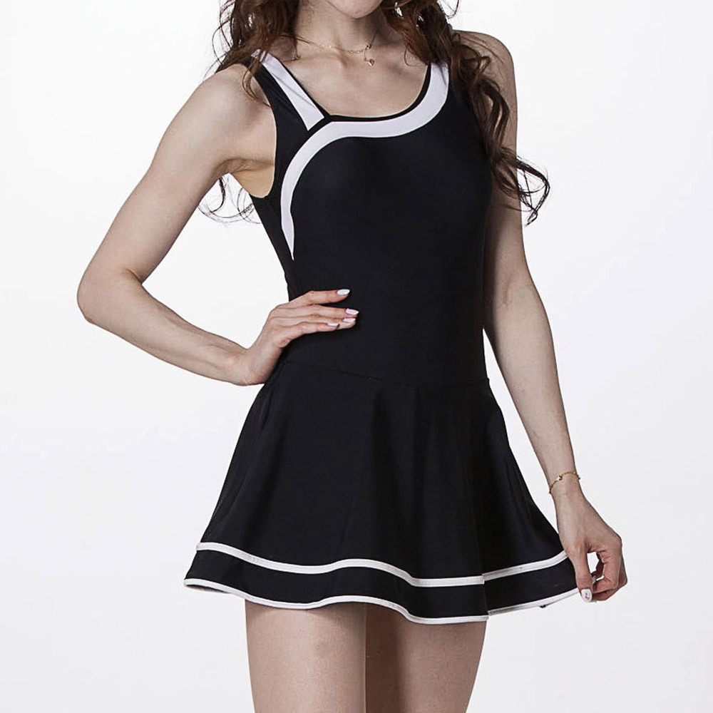 【Bich Loan】妝婰大女連身裙泳裝附泳帽13006601