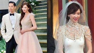 從第一套婚紗美到第四套!關鍵不只是林志玲的身材,而是靠這些「低調單品」?