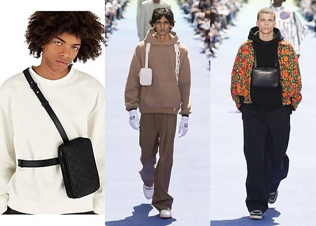 其實Utility Bag好多品牌都有推出,但Louis Vuitton就於肩帶中着墨,為求幫大家提供多幾種有型啲嘅配襯方式。(互聯網)