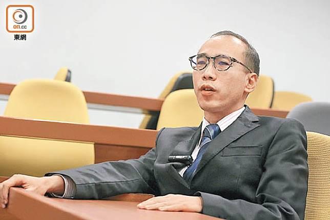 陳偉強建議港府考慮退出聯合國難民公約。