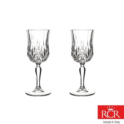 義大利RCR歐普拉無鉛水晶高腳紅酒杯 (2入)160cc
