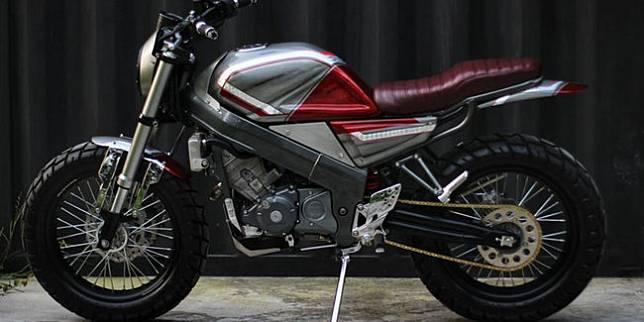 Honda CBR150 bergaya neo scrambler (Istimewa)