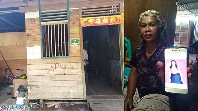 Rumah salah satu korban yang belum pulang usai dinikahi pria asing.