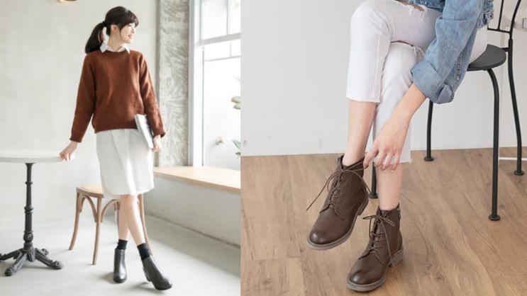 初冬靠這幾雙就夠!日韓人氣短靴精選,讓妳細長美腿稱霸全場