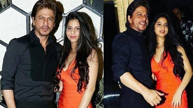 Shahrukh Khan bersama putrinya, Suhana Khan. (Instagram)