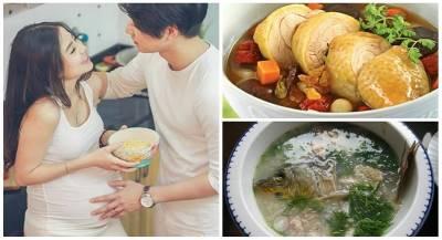 Mang thai được chồng nấu cho 4 món này, con sung sướng mẹ khỏe mạnh tươi rói suốt ngày