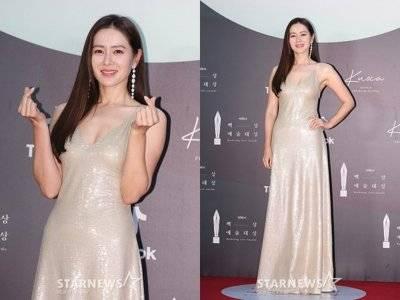 Son Ye Jin Tampil Memukau dengan Slip Dress  di Baeksang Arts Awards  2020