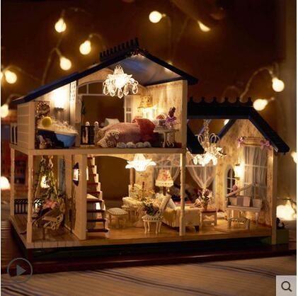 食尚玩家 音樂盒diy音樂盒木質鋼琴天空之城精品創意生日禮物男生送女生