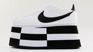 COMME des GARCONS x Nike Cortez最新聯名 超厚底球鞋登高一呼 極限量抵台!