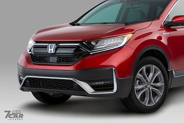 首度導入hybrid 車型美規小改款2020 Honda Cr V 登場