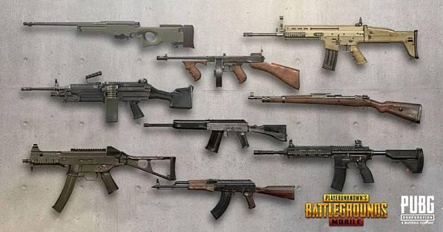 6 Jenis Senjata Paling Spesial Di Pubg Mobile