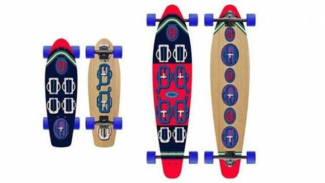 Skateboard Hermes 88582e6e37