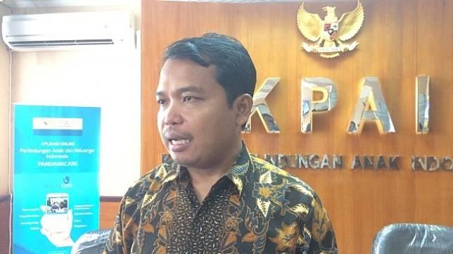 Ketua Komisi Perlindungan Anak Indonesia (KPAI) Susanto. (Suara.com/Arga)