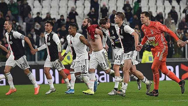 Intip Peluang Juventus Raih Treble Winner
