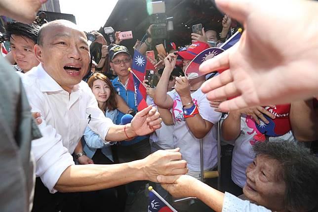 韓國瑜回娘家雲林受包圍 張麗善:當韓國瑜後盾,給中華民國一個機會