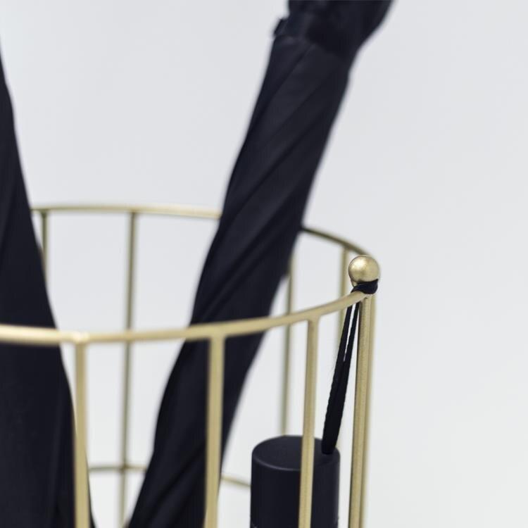 雨傘架 北歐創意鐵藝雨傘架家用落地放傘架酒店大堂雨傘收納架放傘桶商用