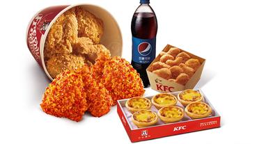 肯德基指定網路訂餐 椒香麻辣脆雞套餐享優惠