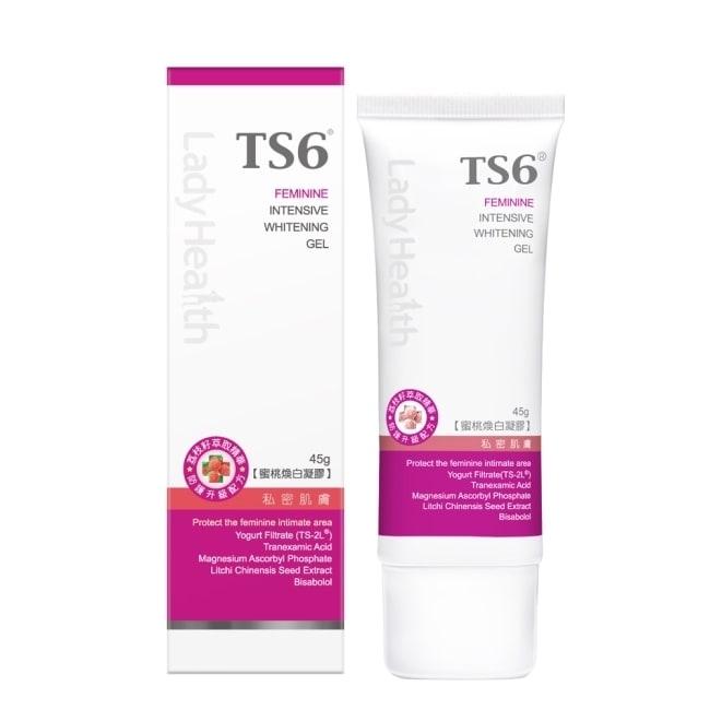 詳細介紹 主要成份TS-2L®益菌精華、3%傳明酸、荔枝籽萃取、維他命C衍生物、甜沒藥 適用對象一般女性皆適用 使用方法早晚潔淨後取適量塗抹於私密肌膚黯沉缺水部位可增量使用。 用途女性私密肌膚美白與保