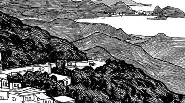 九份 速寫記|跟著 台南畫家 的視角欣賞一趟 山城 之旅 (關於速寫及旅行想法)