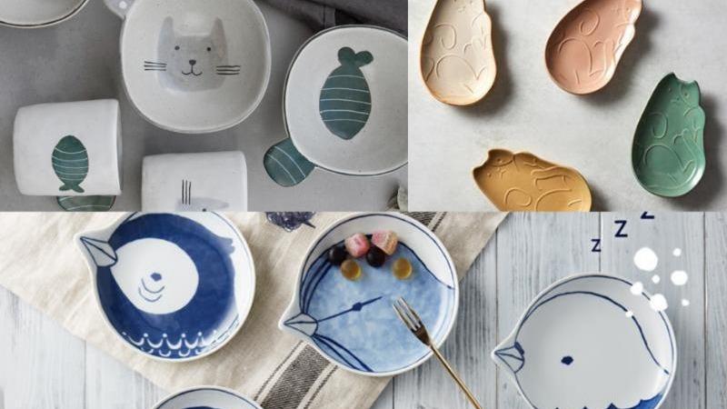 『動物系餐具』搜集!打造餐桌動物園,療癒動物陪伴你的用餐時光