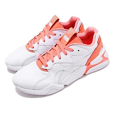 品牌: PUMA型號: 37121101Nova X Pantone特點: 輕量 透氣 舒適穿搭 女力 聯名 白 橘