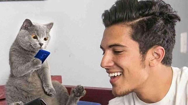 Menikah, Mempelai Pria Pilih Kucing Kesayangan Jadi Pengiring Pengantin