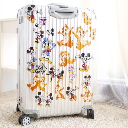 輕鬆DIY行李箱,讓你旅行更加溫馨可愛。貼紙不易撕破,不殘膠。