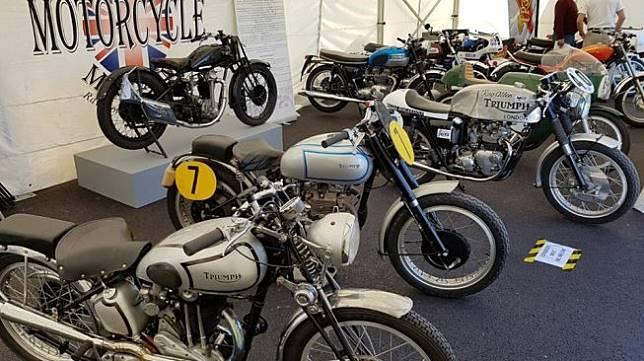 Museum sepeda motor di London. (Facebook/London Motorcycle Museum)