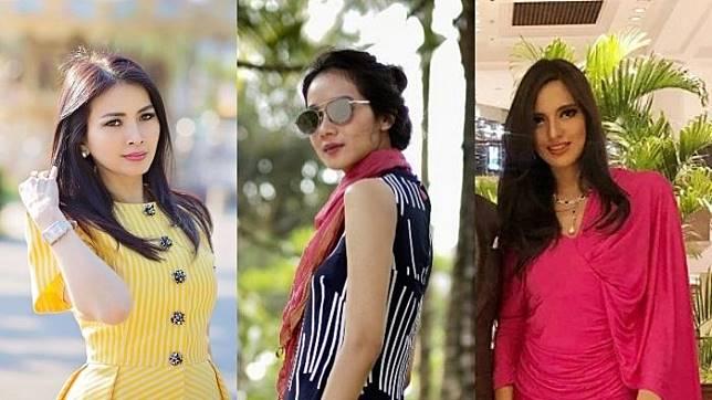 Tajir Melintir, Intip Penampilan Glamor 6 Istri Pemilik Stasiun TV Swasta Indonesia