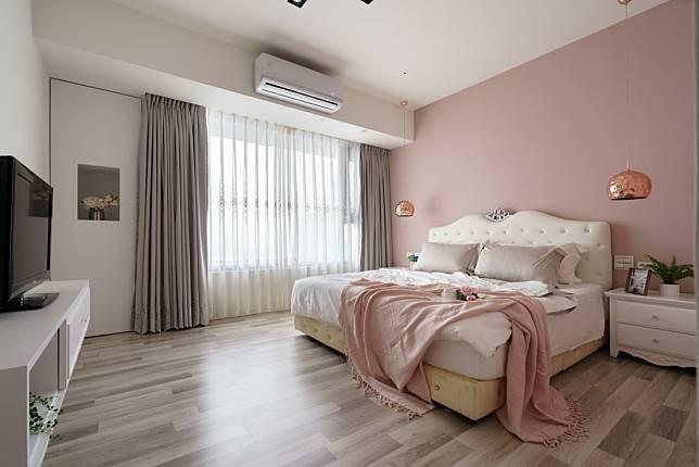 臥室設計實例五:夢幻公主風