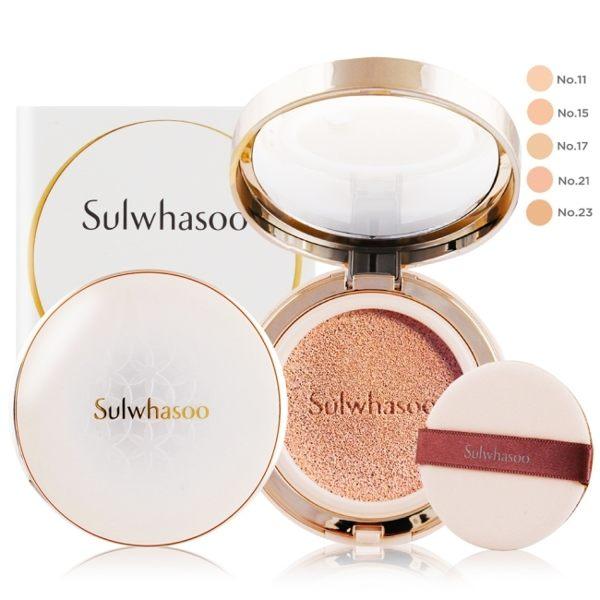Sulwhasoo 雪花秀 完美瓷肌氣墊粉霜SPF50+ PA+++(15gX2)#23 NATURAL BEIGE