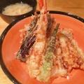 天丼 - 実際訪問したユーザーが直接撮影して投稿した西新宿天ぷら串天ぷら 段々屋の写真のメニュー情報
