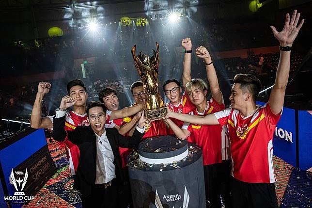 Vietnam เอาชนะ Chinese Taipei สุดมันส์ 4-3 เกม คว้าแชมป์ AWC 2019