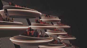 法國巴黎Ōma Cinema科技感電影院概念圖一出,星戰迷準備手刀搶票啦!