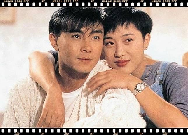 劇中陳法蓉飾演張衛健的女友。(互聯網)