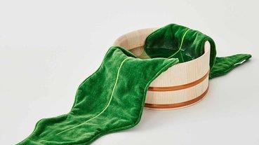 防癌抗氧化海中蔬菜海帶毛巾