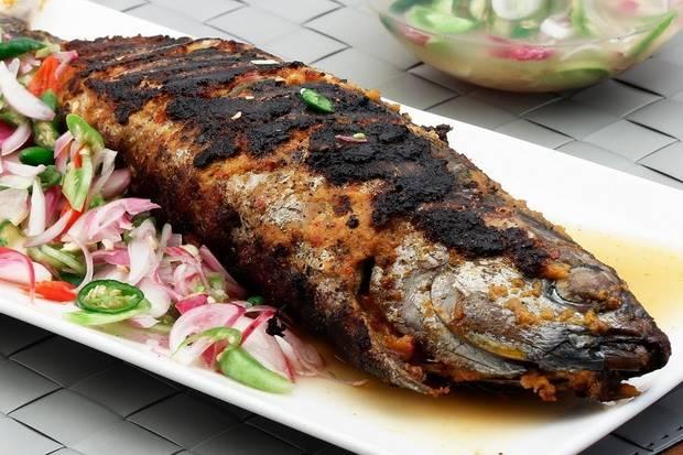 Download Gambar Ikan Bakar Tongkol Gambar Makanan