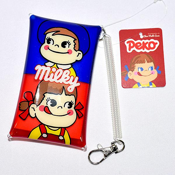 PEKO 不二家 錢包 電子感應卡包 是錢包, 也可放icash 一卡通 等電子卡片