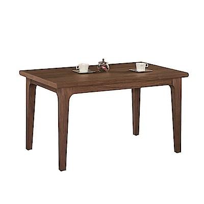 AT HOME-瑪蒂5尺胡桃色實木餐桌(150*85*75cm)
