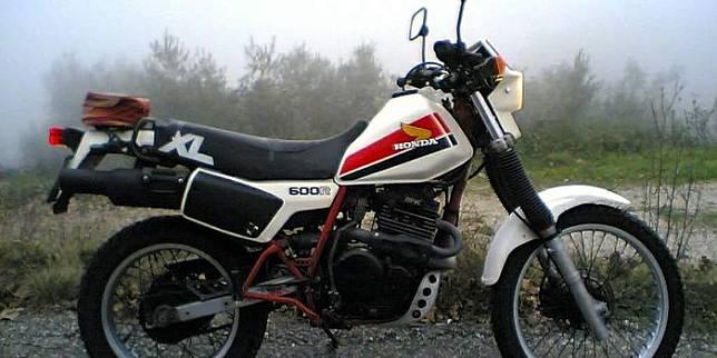 Honda XL600 R, mesinnya dicomot untuk basis Honda GB500TT