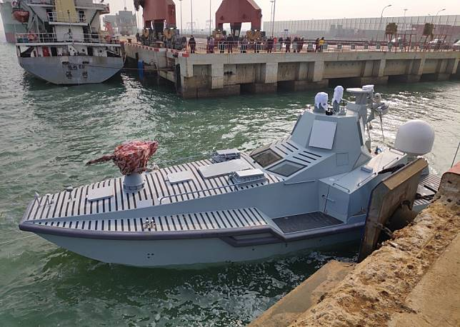 China's new killer robot ship goes through its first sea trial